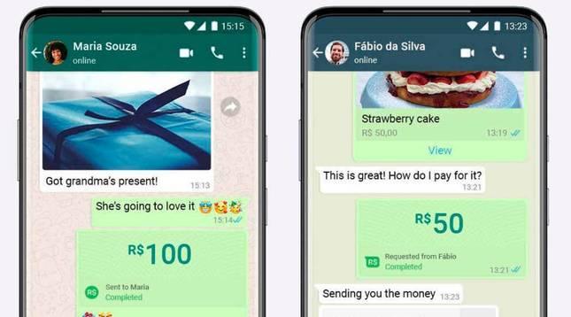 WhatsApp ya permite hacer pagos entre particulares y en negocios.
