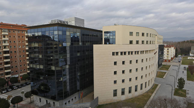 Sede del Palacio de Justicia en Pamplona.