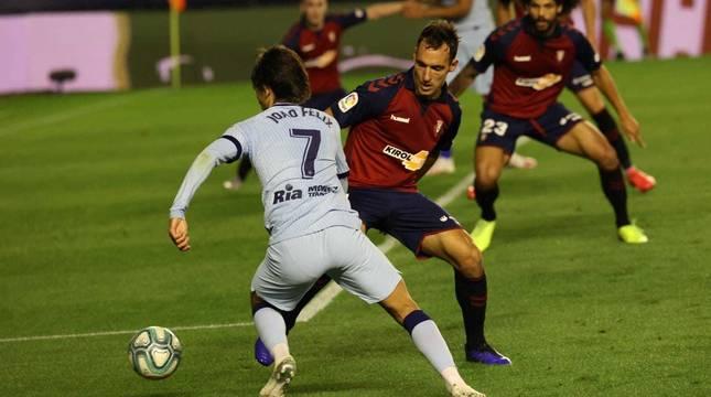 Galería de fotos del partido Osasuna-Atlético