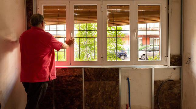 foto de Una vivienda con una rehabilitación energética en proceso