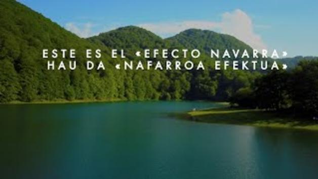 Vídeo: '¿Conoces el efecto Navarra?', eslogan de la nueva campaña para reactivar el turismo