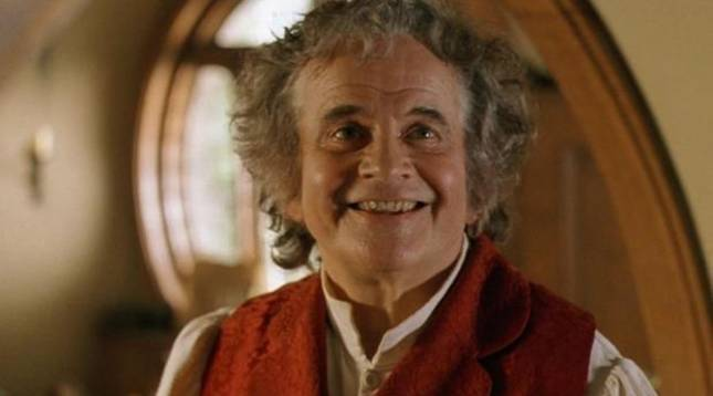 foto de El actor Ian Holm como Bilbo Bolsón en 'El señor de los anillos'