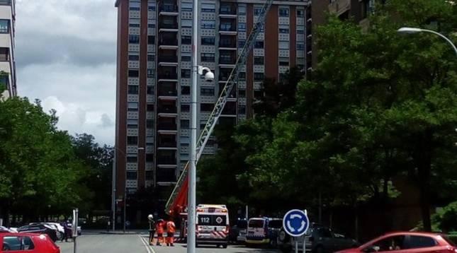 foto de Los bomberos tuvieron que sofocar un incendio en una cocina en Pamplona