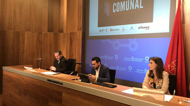 Rueda de prensa de presentación del proyecto Comunal.