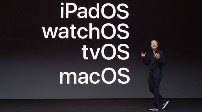 Foto de Tim Cook, consejero delegado de Apple.