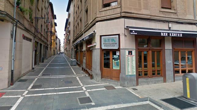 Imagen exterior del bar La Kantxa.
