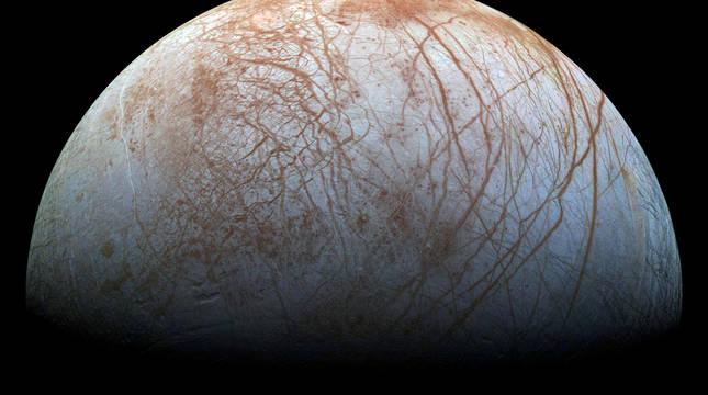 El océano interior de la luna Europa podría ser habitable