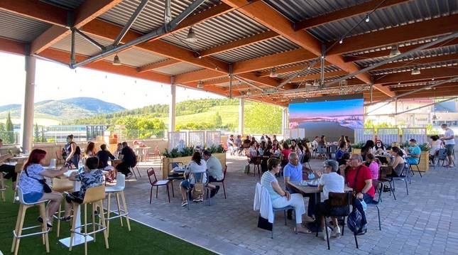 La terraza Itaroa es una de las cinco opciones geniales para este verano