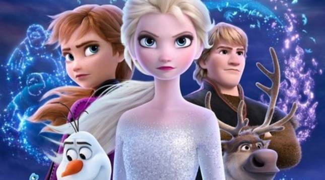 Un fotograma de 'Frozen II'