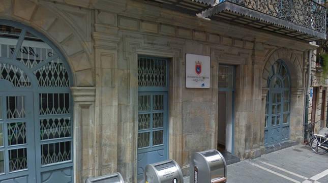 Cierre provisional del registro auxiliar de la calle Zapatería