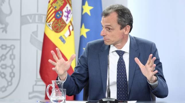 El ministro de Ciencia e Innovación, Pedro Duque.