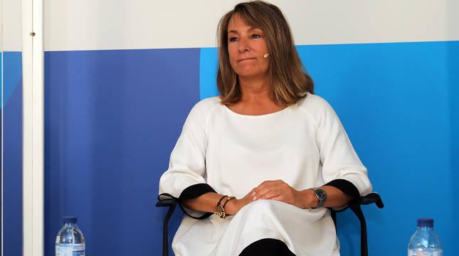Ana Beriáin, presidenta de la Asociación de Hostelería y Turismo de Navarra.