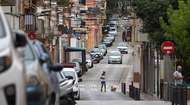 foto de Calle de Sant Feliu de Guíxols (Girona), donde un hombre atacó a su mujer y a su hija de cinco años con sosa cáustica