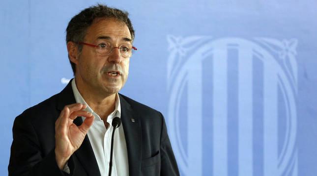 foto de El secretario de Medidas Penales de la Generalitat, Amand Calderó, durante la rueda de prensa