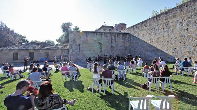 Primer concierto de La Pamplonesa tras la epidemia del coronavirus el 20 de junio en la Ciudadela.