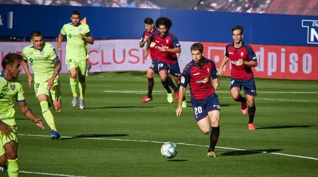 Imágenes más destacadas del encuentro correspondiente a la Jornada 34 de LaLiga Santander disputado en el estadio de El Sadar.