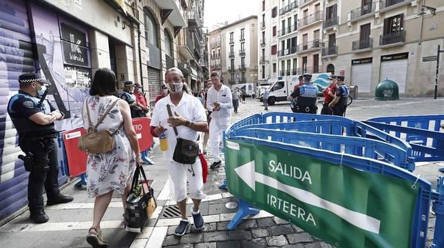 Pamplona se enfrenta a su primer 6 de julio sin chupinazo desde 1938