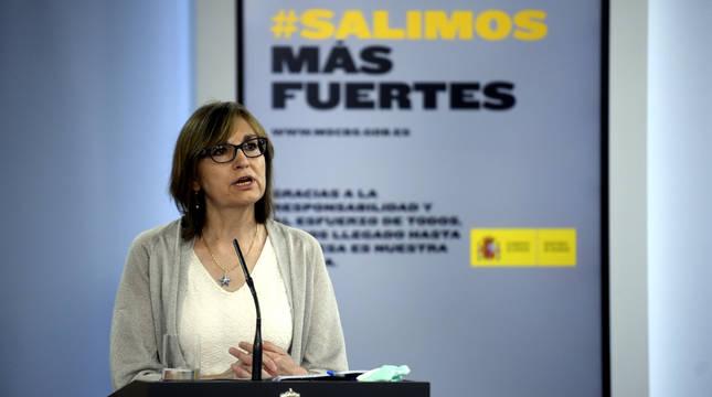 La directora del Centro Nacional de Epidemiología, Marina Pollán.