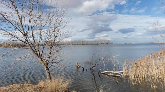 La laguna de Lor.