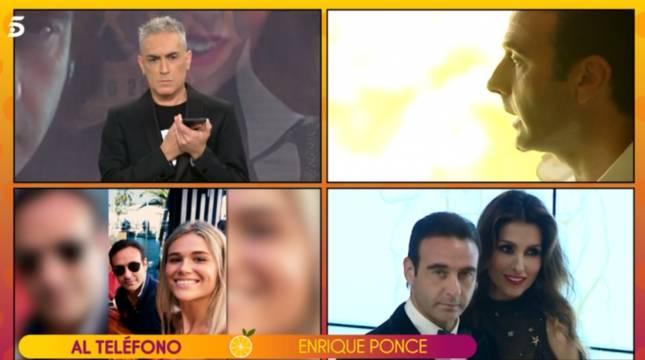 Enrique Ponce rompe su silencio en 'Sálvame':
