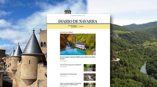 Diario de Navarra lanza un nuevo boletín de turismo