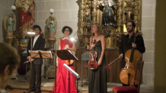 Una actuación anterior en la la iglesia parroquial de San Pedro.