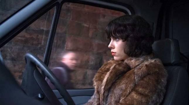 Scarlett Johansson, en la película 'Under the skin'.