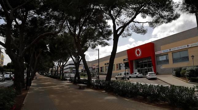 Foto del exterior del centro comercial 'Las Américas
