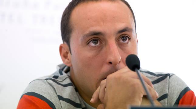 Momento en el que Juan Martínez de Irujo anunció que sufría una afección cardiaca en 2016.