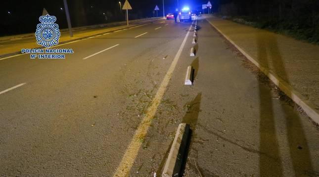 Un vecino de Viana detenido por simular el robo de un coche tras un accidente
