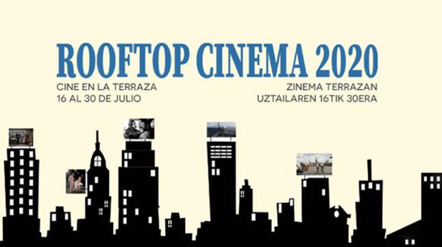 Programa del ciclo Rooftop Cinema.