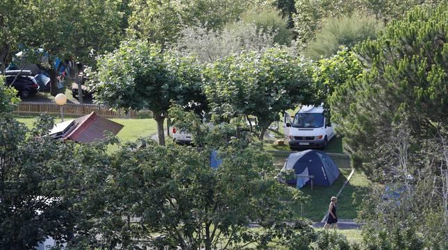 Camping de Zarautz.