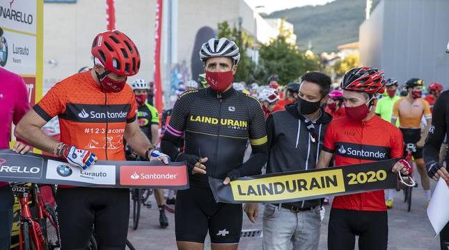 Todas las fotografías de la carrera ciclista La Induráin 2020 celebrada en Villava