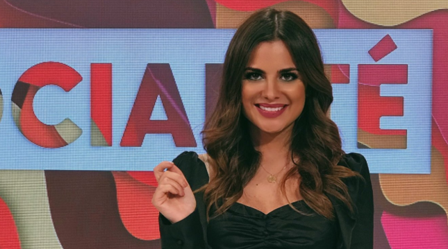 La reportera Alexia Rivas