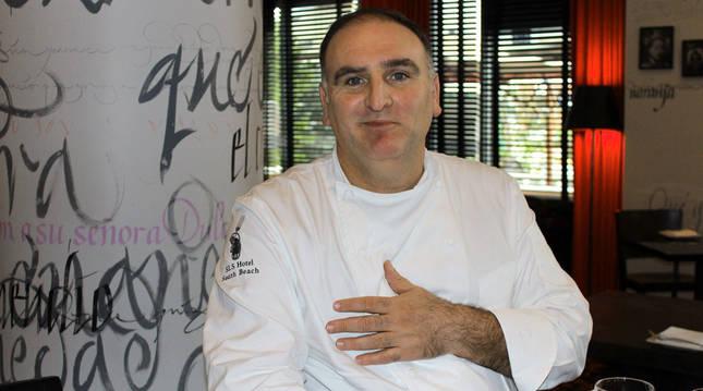 Foto del chef José Andrés.