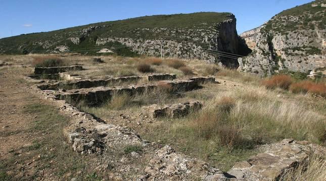 Villa romana de Liédena (Navarra).
