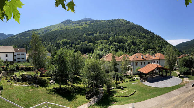 Vista de Isaba (Navarra).