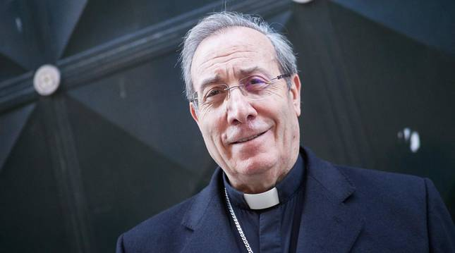 foto de El Arzobispo de Pamplona, Francisco Pérez, ha oficiado este sábado un solemne funeral por las víctimas de la pandemia