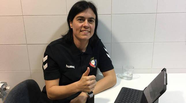 Kakun Mainz, nueva entrenadora del C.A. Osasuna Femenino.