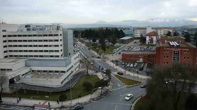 Vista general del Complejo Hospitalario de Navarra (CHN).