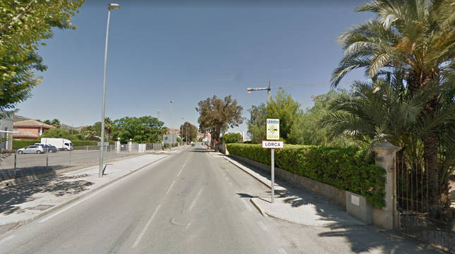 Localidad de Lorca (Murcia).