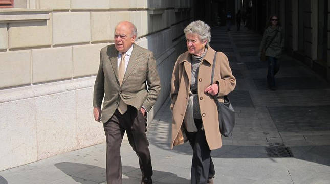 Jordi Pujol y su esposa, Marta Ferrusola, en una imagen de archivo.