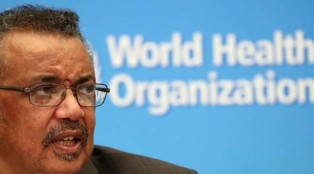Foto de Tedros Adhanom Ghebreyesus, director general de la Organización Mundial de la Salud.