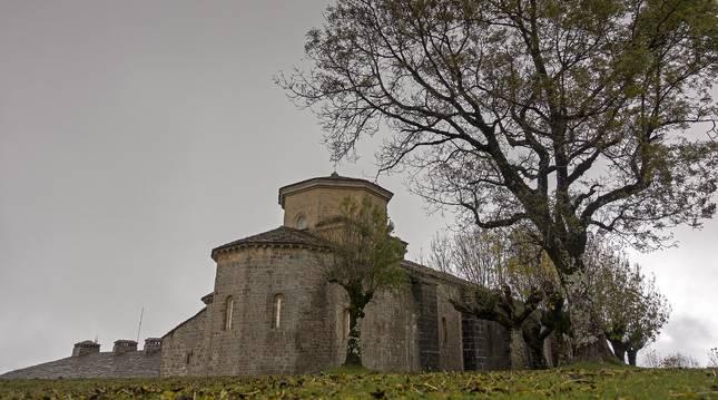 Monasterio de San Miguel de Aralar.