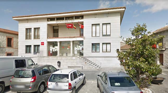 Ayuntamiento de la localidad madrileña de Chapinería.