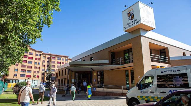 Vista del centro de salud Sur Aranda, en Aranda de Duero (Burgos).