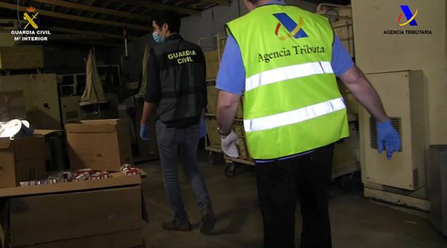 Destapan una fábrica clandestina de tabaco en Lleida que operó durante la pandemia
