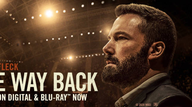 Cartel de la película 'The way back', protagonizada por Ben Affleck.