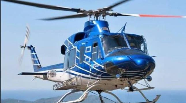 Helicóptero del Brif.