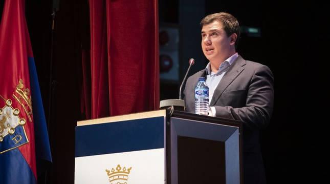 Foto de Gonzalo Larrondo, miembro de la Comisión de Control de Osasuna.
